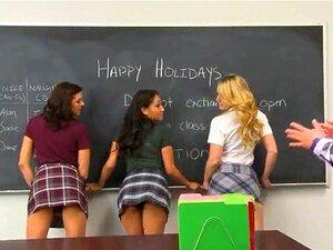 presente de Natal bonito quente para professor