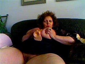Grande, maduro na Webcam R20