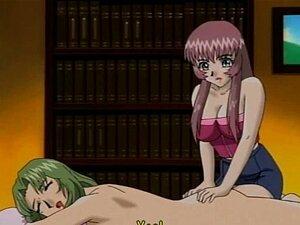 Slutty hentai lezbos