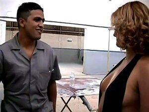 Brasileiro Chick tem sexo com o mecânico, há