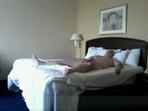 Older Man Young Fuck Bitch, Old man waiting in bed