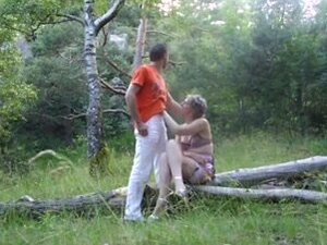Amateur French couple enjoy hot sex in public