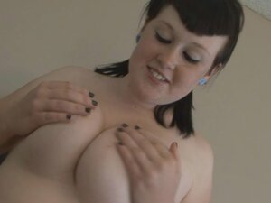 Busty chick makes the guy cum pretty quickly