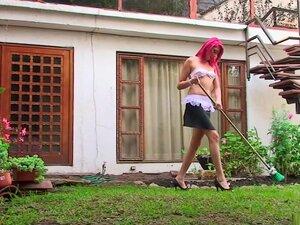 Horny pornstar in incredible outdoor, dildos/toys