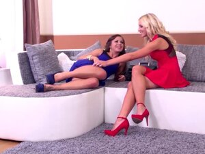 Luxury whores Bella Baby and Kiara Lord Double