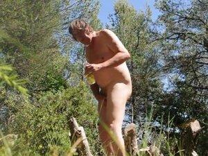 Transvestite gay tranny anal fisting dildo oiled