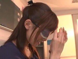 Minami Kojima naughty Asian milf in glasses in
