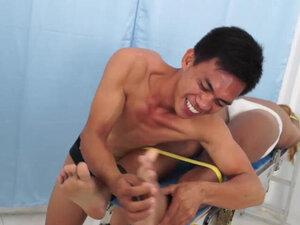 Asian Boy Hunter On The Tickle Rack
