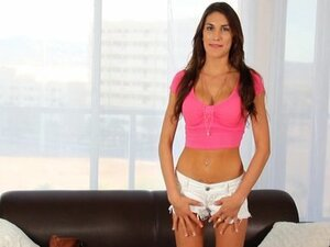 HD CastingCouch-X - Canadian August Ames fuck