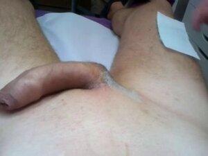 Getting pierced cock and balls waxed again!