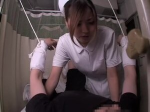 Medical sex video with an asian nurse who rides a