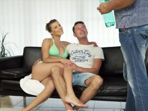 Sex with her boyfriend´s father after swimming