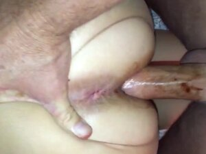 Phat ass nympho fucked on the rag in crotchless