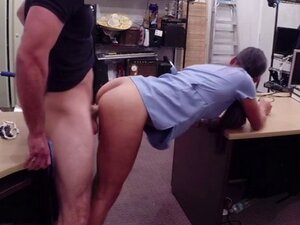 Dark skin desperate nurse enjoys massive hard cock