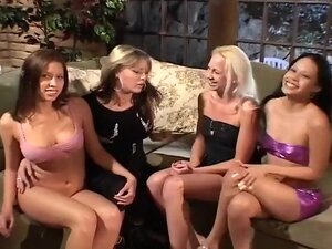 Mature Mistress Seduces Three Sexy Dykes, Sindee