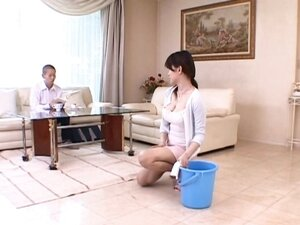 Miki Sato is a aroused and hooters mum part3