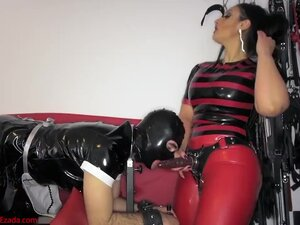 A sissy has no choice but to take the cock