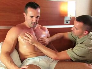 Adam Handsome delivery guy serviced in spite of