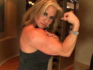 Aziani Iron mature bodybuilder Wanda Moore big