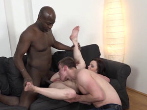 Cuckold Lets Wife Lena Dark Get Her Ass Drilled