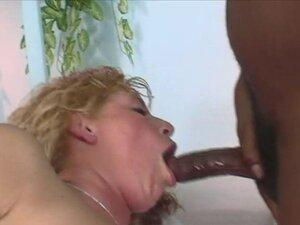 Interracial gag swallow
