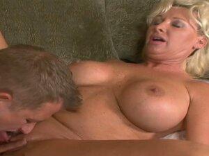 Horny momma JoAnna Storm betrays her husband with