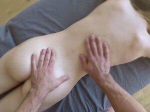 Teen Alex Mae in lustful massage filmed in POVwith