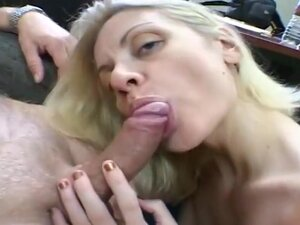 An Amateur MILF Gives A Blowjob, Holly went down