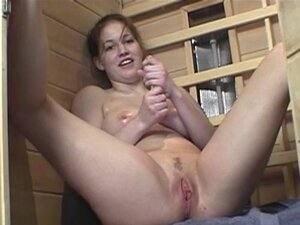 First Time Lesbian Experience in Sauna Part 1