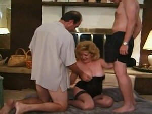 Three Mature Whores Getting Group Fucked, These