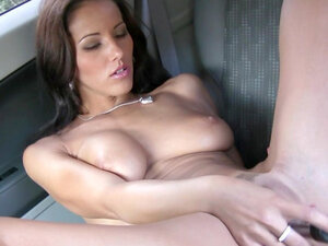Czech pornstar Angel Dark is getting naked