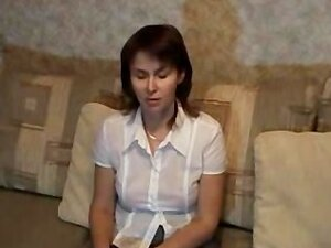 Russian Mature Shows Her Best P