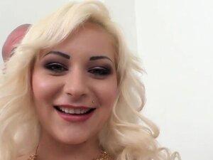 Super hot blonde housewife enjoys a fat dick