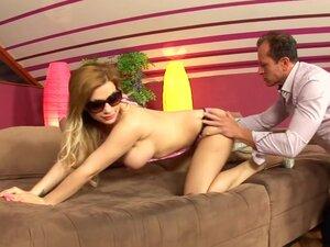 Best pornstar Bibi Noel in amazing anal, piercing