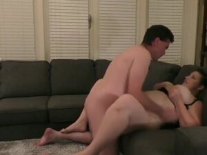 BBW Couch Fuck part 1,