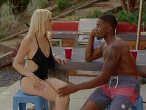 BLACKED Megan Rain's surprise interracial