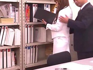 Hitomi tanaka office grope