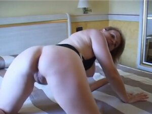 Hot wife asshole probed by alien monster cock in