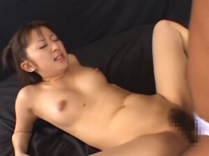 Hina Hinako Asian chick gets double penetration,