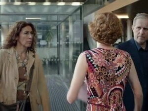 Hot redhead in Austrian 'Tatort'-episode