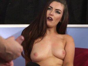 Femdom babe shows booty