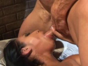 Muscled Guy Gets Rough With Hot babe