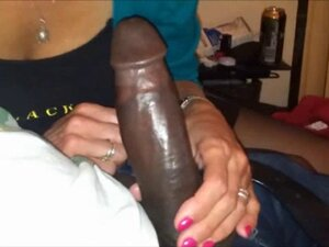 Amateur grandma Interracial blowjob