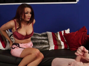 Milf mistress shows boobs
