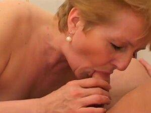 Granny still has perfect perky tits,