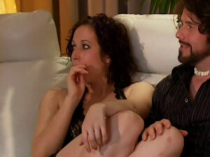 They sign up to have group sex this swinger couple