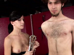 CBT new slave to cock torture is bound to post