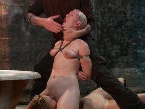 2 Helpless Blonde Whores in Brutal Bondage, We