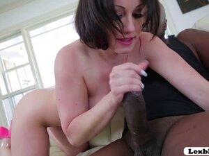 Jennifer seduces stud Lex for and interracial