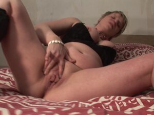 Charlott is a sweet blonde in boots yearning to